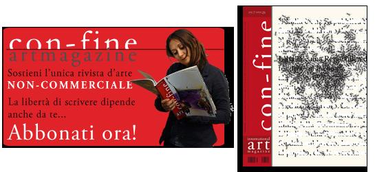 Abbonamento con-fine art magazine