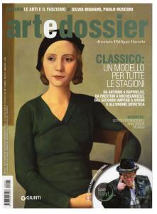 La copertina del numero di settembre di artedossier