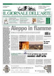 Il Giornale dell'Arte di ottobre 2012