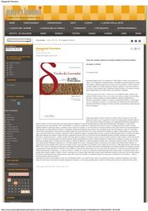Recensione a Vicolo dei Lavandai dal sito Arte e luoghi
