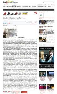 Articolo su TeleStreet Arcobaleno
