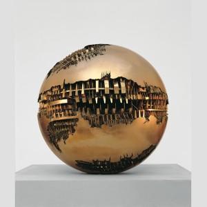 Sfera n. 1, 1963, Bronzo, diametro 120 cm - Arnaldo Pomodoro