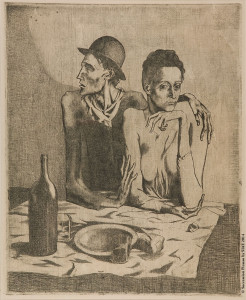 Il pasto frugale di Pablo Picasso