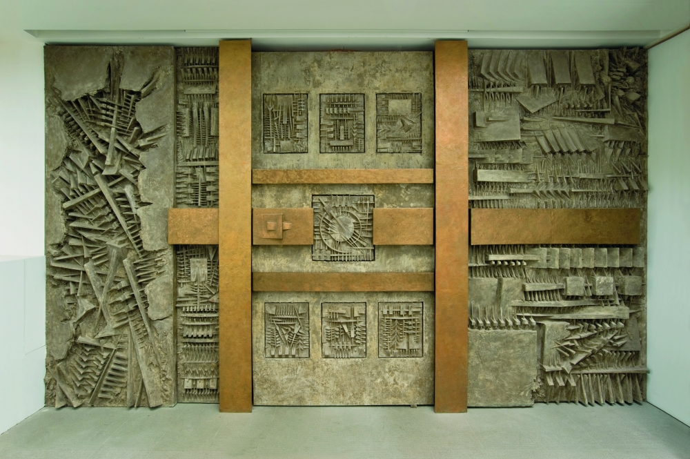 Arnaldo Pomodoro - Ingresso nel Labirinto