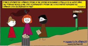 Ingresso nel Labirinto di Arnaldo Pomodoro #1