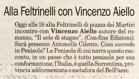 Napoli Più | Alla Feltrinelli con Vincenzo Aiello