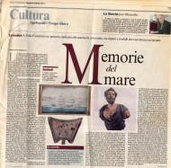 Corriere del Mezzogiorno | A villa Fiorentino un percorso dedicato alla marineria sorrentina, tra dipinti e modelli che raccontano un'epoca | di Giovanna Mozzillo