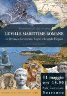 Presentazione del volume LE VILLE MARITTIME ROMANE in Penisola Sorrentina, Capri e Litorale Flegreo
